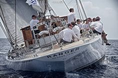 The exclusive superyacht sailrace in Palma with Evander Broekman