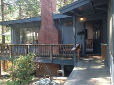 vacation rentals to book online direct from owner in . Vacation rentals available for short and long term stay on Vrbo. Pinecrest Lake, Twain Harte, Winter Fun, Cabin Rentals, Ideal Home, Deck, Stairs, Vacation, Places