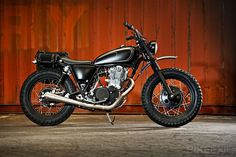 "Yamaha SR400 Custom ""Yard Built"" by Wrenchmonkees   Gear X Head"