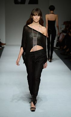 Mercedes-Benz Fashion Week : MARK AND ESTEL Spring 2014