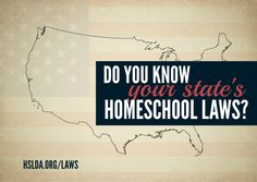 Do you know your state's homeschool laws? Would you like to know? HSLDA is here to help with that! #HomeschoolStateLaws #Homeschoollaws