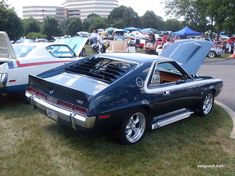 Amc Gremlin, Harley Fatboy, Amc Javelin, American Motors, Trucks And Girls, American Muscle Cars, Automotive Design, Motor Car, Mopar