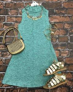 Make Your Mock Tunic Dress: Mint from privityboutique