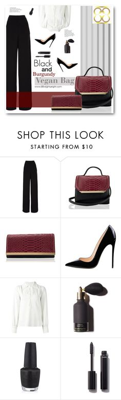 """""""Love 'em bags"""" by sunshineb ❤ liked on Polyvore featuring Rochas, Handle, See by Chloé, OPI and Chanel"""