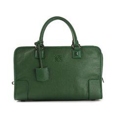 Bolsa Loewe Amazona Cuero verde