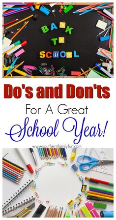 Do's & Don'ts For a Great School Year + Giveaway via @winonarogers
