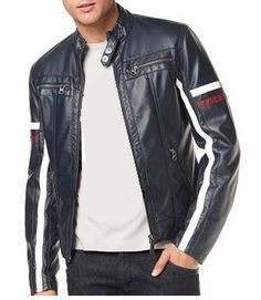"""Veste en cuir homme """"S-Line"""" http://vestesencuir.fr/vestes-en-cuir-veritable-homme/74-veste-en-cuir-homme-s-line.html"""