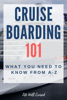 Cruise boarding tips to help you from A-Z, so you can be prepared for cruise embarkation and ready to board your cruise. All you need to know about cruise documents and the cruise boarding process. Best Cruises for 2019 Cruise Packing Tips, Disney Cruise Tips, Cruise Travel, Cruise Vacation, Europe Packing, Traveling Europe, Shopping Travel, Vacation Deals, Backpacking Europe