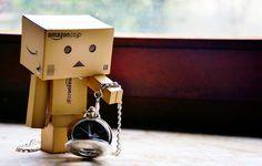 Danbo, Box Robot, Robot Costumes, Amazon Box, Car Seat Cover Sets, Cute Photography, Cute Box, Strawberry Fields, Thinking Outside The Box
