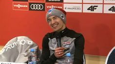 Stoch odpowiada, sala wybucha śmiechem | Sporty Zimowe  w Sport TVN24