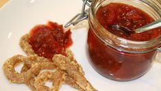 Tomat- og plommechutney - Rugostepops med tomat- og plommechutney. - Foto: Siri Bjelland Berven / NRK