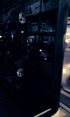 저녁 버스