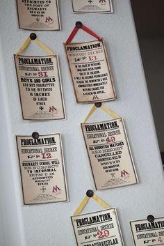 Harry Potter Birthday Party Ideas   Photo 1 of 36