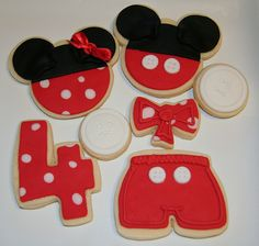 Oh mickey your so fine cookies