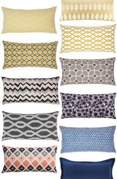 Great source and site for decorative designer throw pillows!
