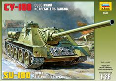 Maquette - Kit Soviet Self-propelled Gun Su-100 - Zvezda 3531