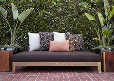 DIY Patio Daybeds, Wicker Outdoor Beds, and Lounges