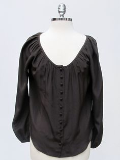 Azura Boutique - Fifteen Twenty Rolled Sleeve Top in Army, $163.00 (http://www.shopazura.com/fifteen-twenty-rolled-sleeve-top-in-army/)
