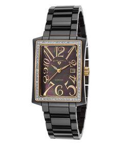 Black Bella Diamond Ceramic Watch