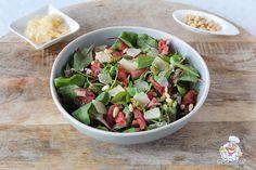 Baby Food Recipes, Salad Recipes, Snack Recipes, Pesto Vinaigrette, Mozzarella, Cold Dishes, Healthy Snacks, Healthy Recipes, Avocado