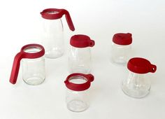 Look! Recycle Jars With Reusable Lids and Spouts