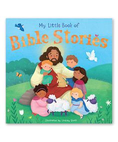 Love this My Little Book of Bible Stories Paperback on #zulily! #zulilyfinds