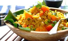 Quick Vegetable and Chickpea Breyani Recipe | Knorr, Whats For Dinner