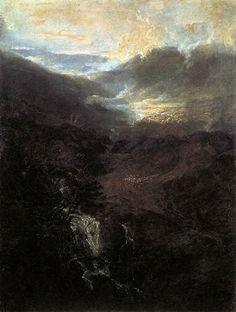 Norham Castle, Sunrise (1798). William Turner.
