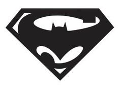 Superman Batman Die Cut Vinyl Decal for Windows, Vehicle Windows, Vehicle Body Surfaces or just about any surface that is smooth and clean Silhouette Projects, Silhouette Design, Batman Silhouette, Stencils, Cricut, Art Diy, Silhouette Portrait, Scroll Saw, Vinyl Projects