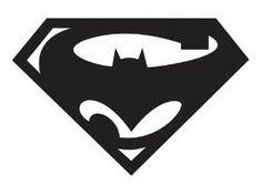 Super Man 2/Batman vs Superman 4x4 Vinyl Decal Great by AMAvinyl, $5.00