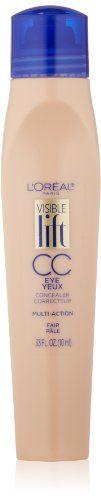 L'Oreal Paris Visible Lift CC Eye Concealer, Fair, 0.33 Fluid Ounce L'Oreal Paris http://www.amazon.com/dp/B00ISP7X7C/ref=cm_sw_r_pi_dp_eje8vb0PNP09X