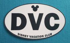 Disney Vacation Club - DVC Member - Bumper Sticker or Car Magnet - Handmade