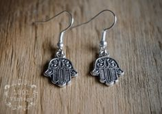 Hamsa Earrings Hamsa Hand Hamsa Hand Earrings Hamsa by Hamsa Jewelry, Boho Jewelry, Unique Jewelry, Hamsa Hand, Drop Earrings, Trending Outfits, Handmade Gifts, Etsy, Vintage