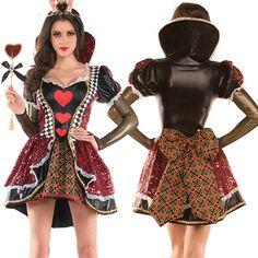 Adult Heartless Queen Costume - Party City | Halloween em ...