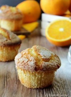muffin all'arancia ricetta anche Bimby