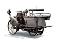 The oldest car in the world that still runs was built in France in 1884 for French Count De Dion. This particular car has remained with one owner for 81 years. Vintage Cars, Antique Cars, Steampunk Movies, Automobile, Car Facts, Steampunk Festival, Neo Victorian, Power Cars, Marquise