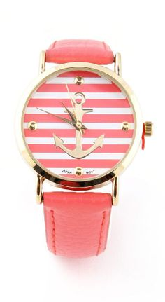 Coral anchor watch