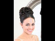 Wedding hair video - Southeast asian updo with curls