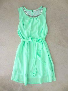 Meadow Grass Party Dress