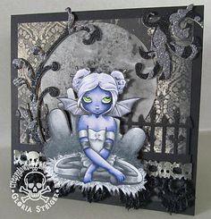Amazing goth-esque card