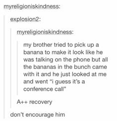 conference call clean funny