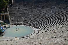 Epidaurus Theater, Greece. Αρχαία Ελλάς: Η ακουστική της Επιδαύρου «Δρα Επι της Αυρας» και ο εξαίρετος ήχος μόνο της Ελληνικής γλώσσας