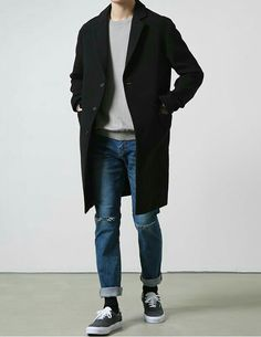 Stylish Mens Outfits, Casual Outfits, Mode Outfits, Fashion Outfits, Korea Fashion, India Fashion, Japan Fashion, Herren Outfit, Japanese Street Fashion