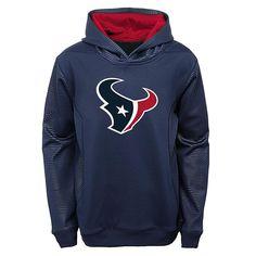 Boys 8-20 Houston Texans Performance Hoodie, Boy's, Size: Xl(18/20), Blue (Navy)