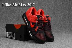 cheap for discount c26a9 904ec Nike Air Max 2017 Movement Fitness City Trail Running Shoes All sizes Black  Red