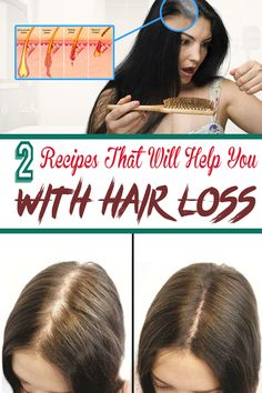 Hair loss is a problem that many people suffer from. Here are 2 natural remedies that you can use at home and regain your healthy hair.