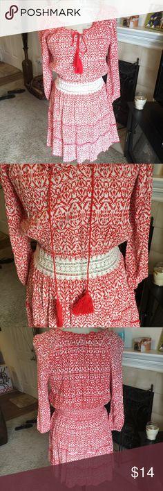 HPNWT pretty summer dress. Firm unless bundled. Thanks for understanding.  Derek Heart Dresses Midi