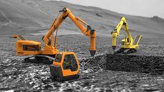 Hercules Concept Excavator has an innovative design to eliminate the inefficiencies of existing excavators.
