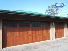 Infinity Classic Model I206A WG Dark Cherry PC Finish Garage Door