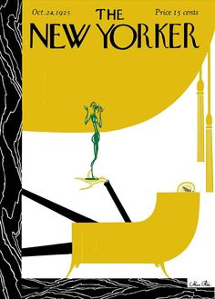 The New Yorker October 24. 1925  Cover Art - Max Rée